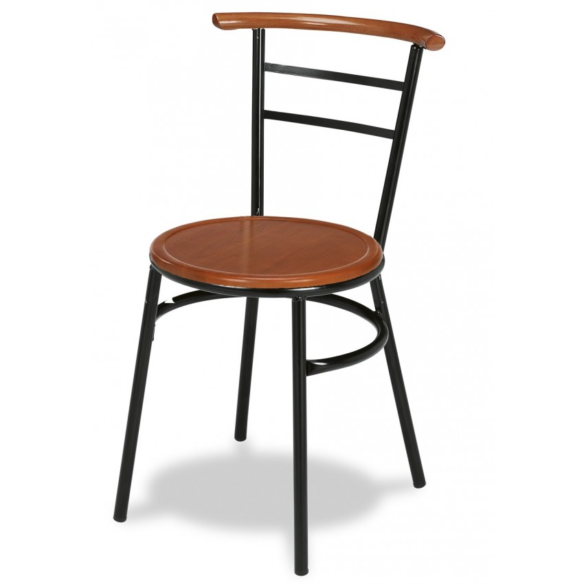 Silla bar MR111 asiento madera