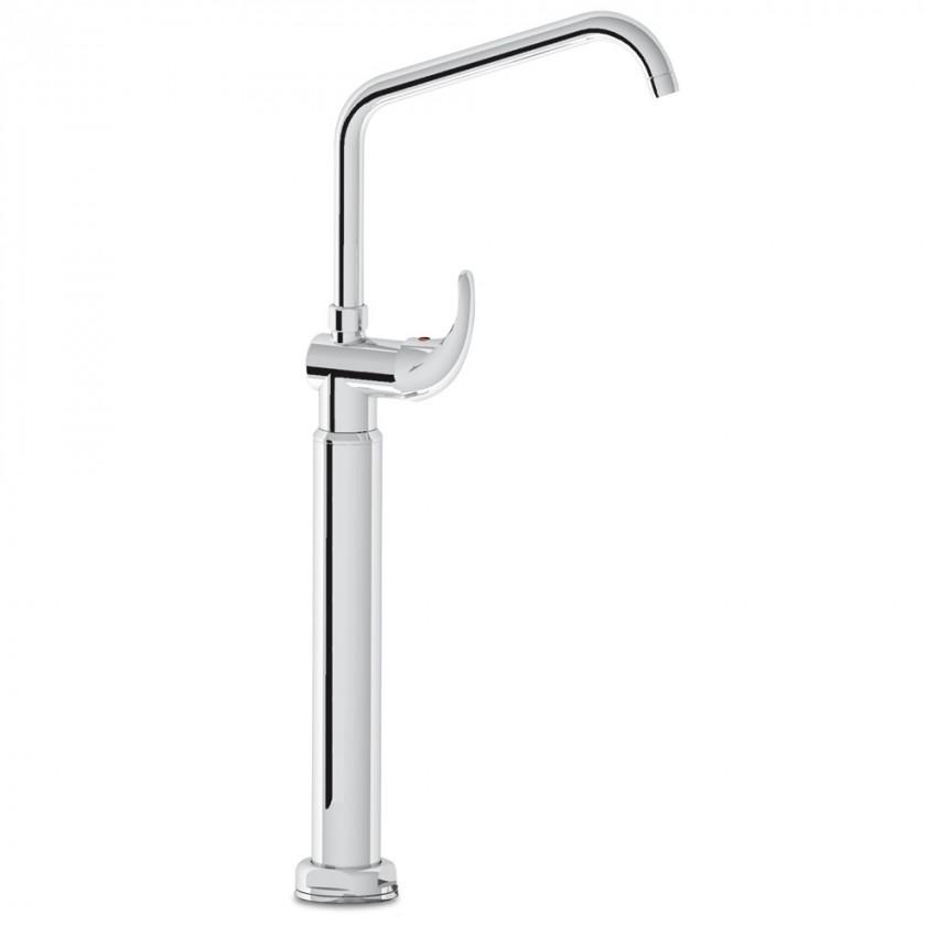 Grifo medio con un agua columna orientable 06-463210