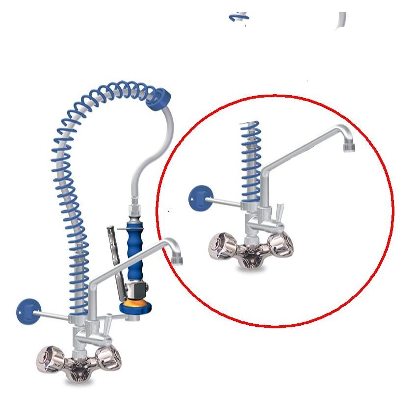 Grifo de ducha bajo dos aguas 06-463080