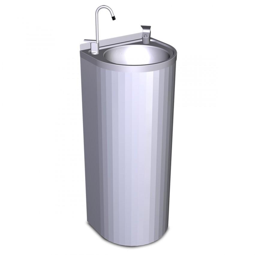 Fuente de Agua Fría 64204 de pie en acero Inox.
