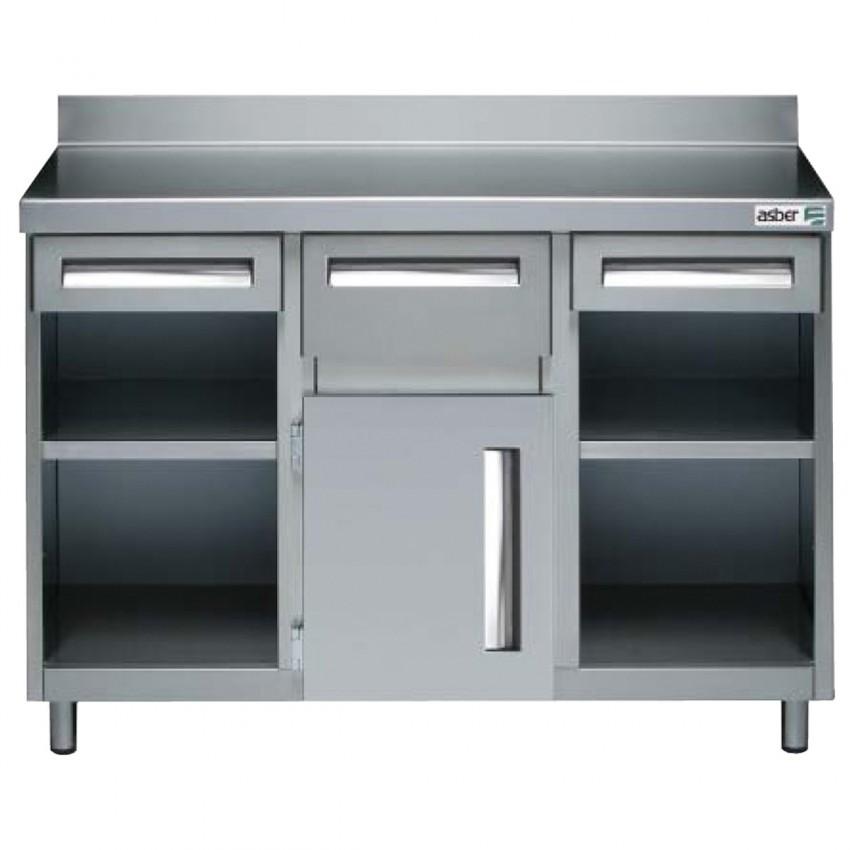 Mueble Cafertero y Molinos 522002 con Orificio- 150x60