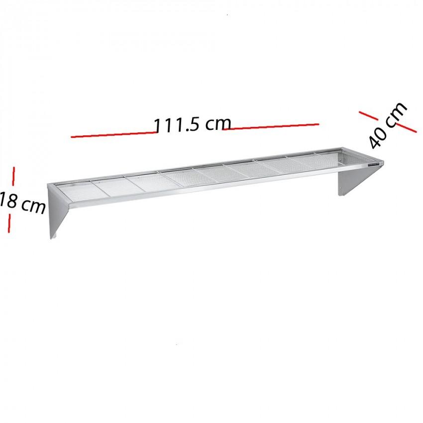 Estanteria de tubos 100 x 40 cm F0100001