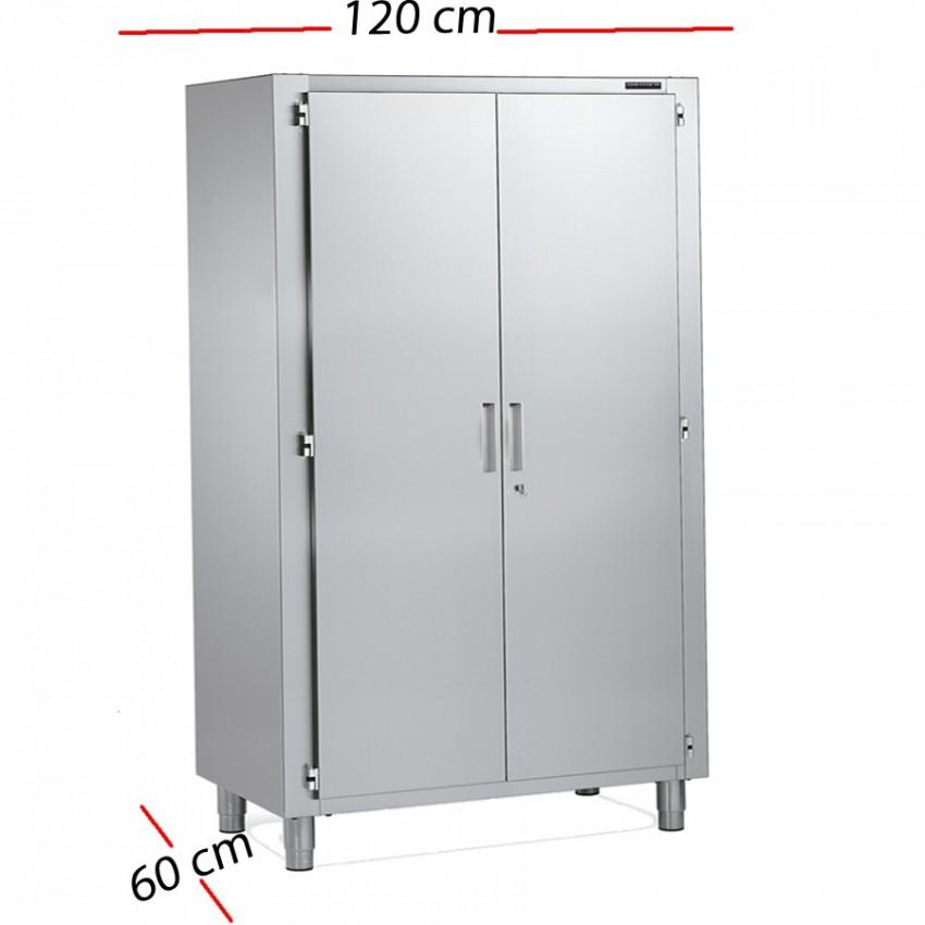 Armario de acero inoxidable para cocina industrial 120x60 - Armarios de acero inoxidable ...