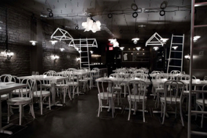 Restaurante negro