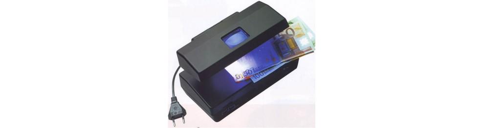 Detector y contadores de Billetes