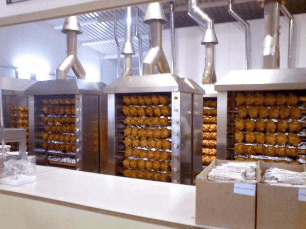 asadores para pollos