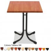 Mesa de bar MR319 -Melamina 60 cm