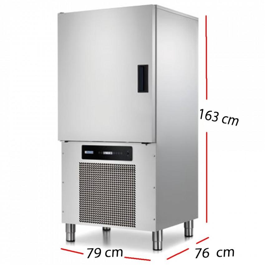 Abatidor Temperatura 5 GN1/1 Producción 15 - 10 Kg.