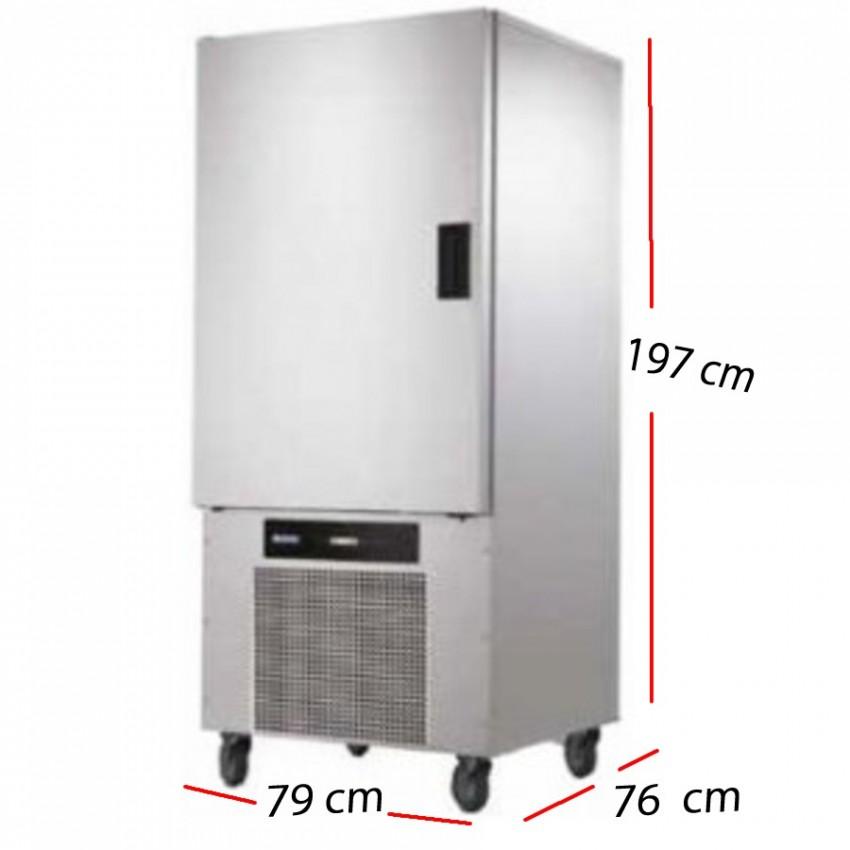 Abatidor Temperatura 10 GN1/1 Producción 32 - 22 Kg.