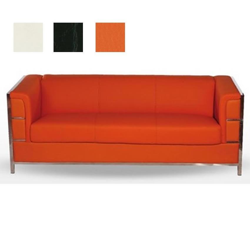 Sofa de salas de espera para tres personas mutriku - Sofa de tres plazas ...