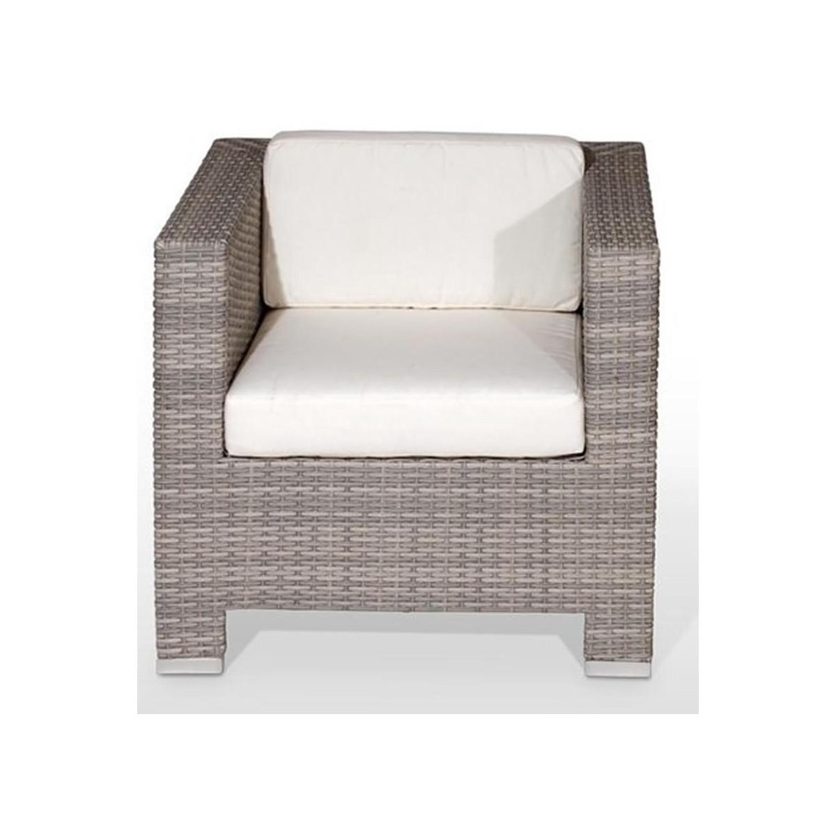 Sofa de terraza de una persona sitges con cojin incluido for Sofa de una plaza