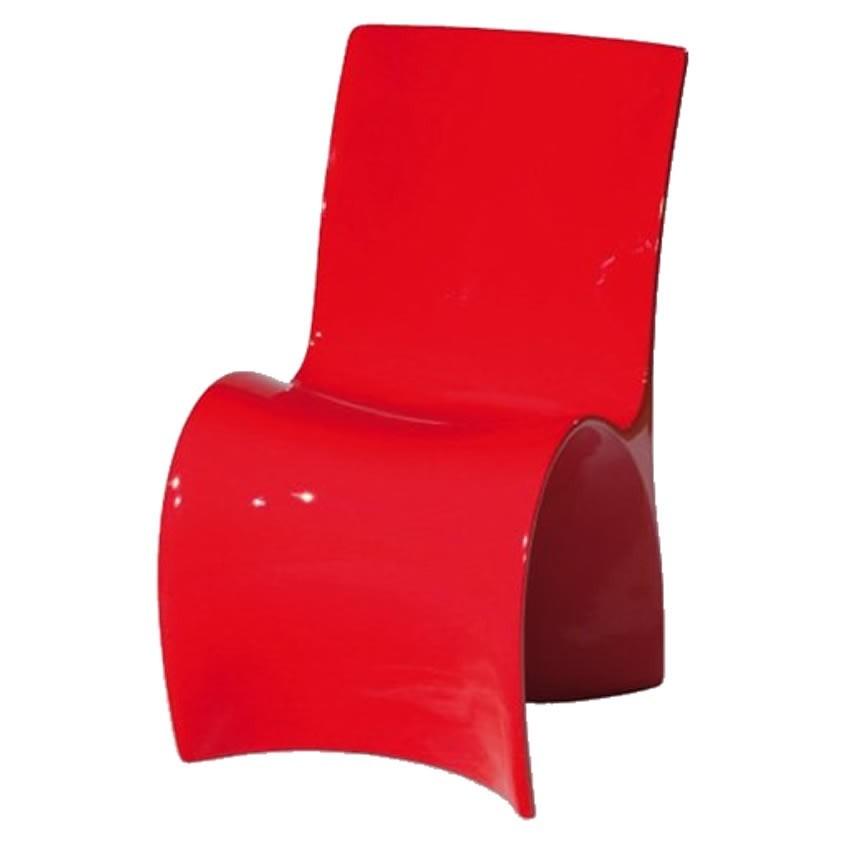 Silla roja bonita adem s de original y divertida ibi for Sillas polipropileno diseno