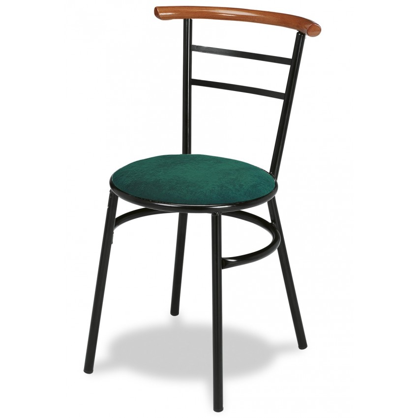 Sillas de cafeter a con asiento tapizado canfranc b for Asientos para sillas