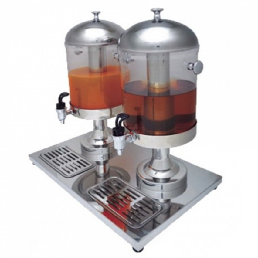 Dispensador de Bebidas Doble 2 x 8 L. 07-1762