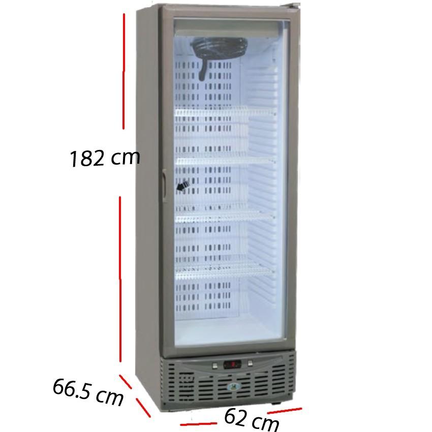Armario Congelación Inox 320 L- 580 W. A4MCNF