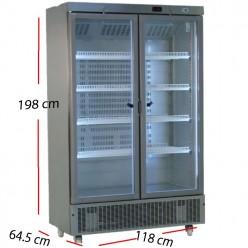 Armario Puerta cristal 745 L- 370 W. A24MC