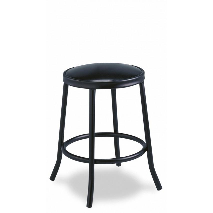 Banqueta de bar MR509 asiento tapizado con un aro