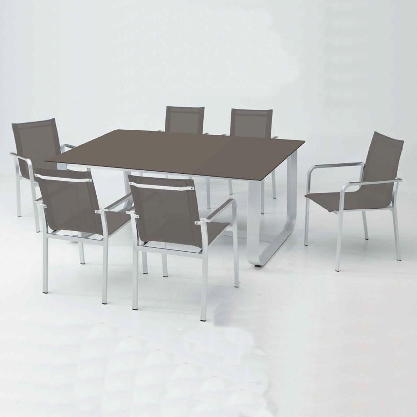 Conjunto de muebles de jardín Gerena