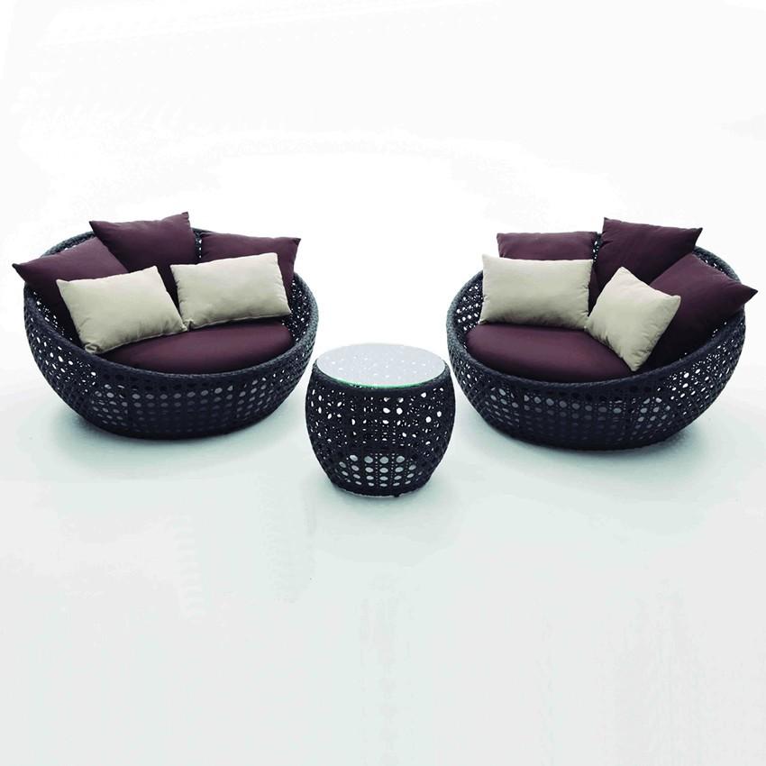Muebles de jardín lounge set Ribadesella