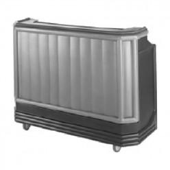 Barra de bar portátil depósito para hielo- 137.2 x 65.7 cm.