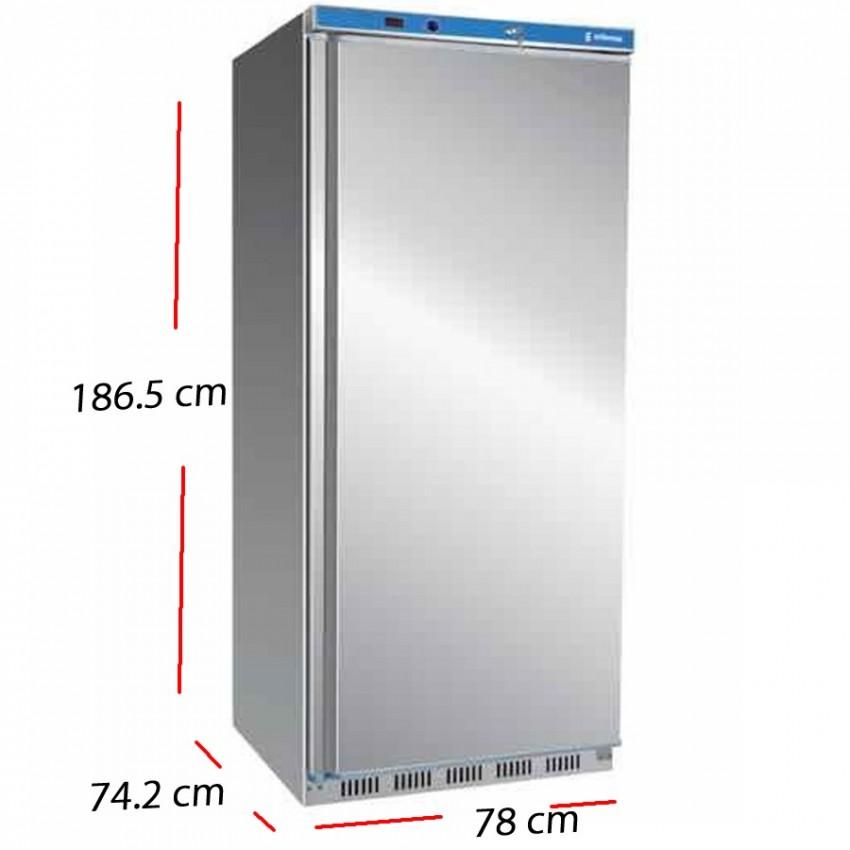 Congelador Inox Alto de cocina 600 L. 77.5x69.5 cm - ANS-601-I