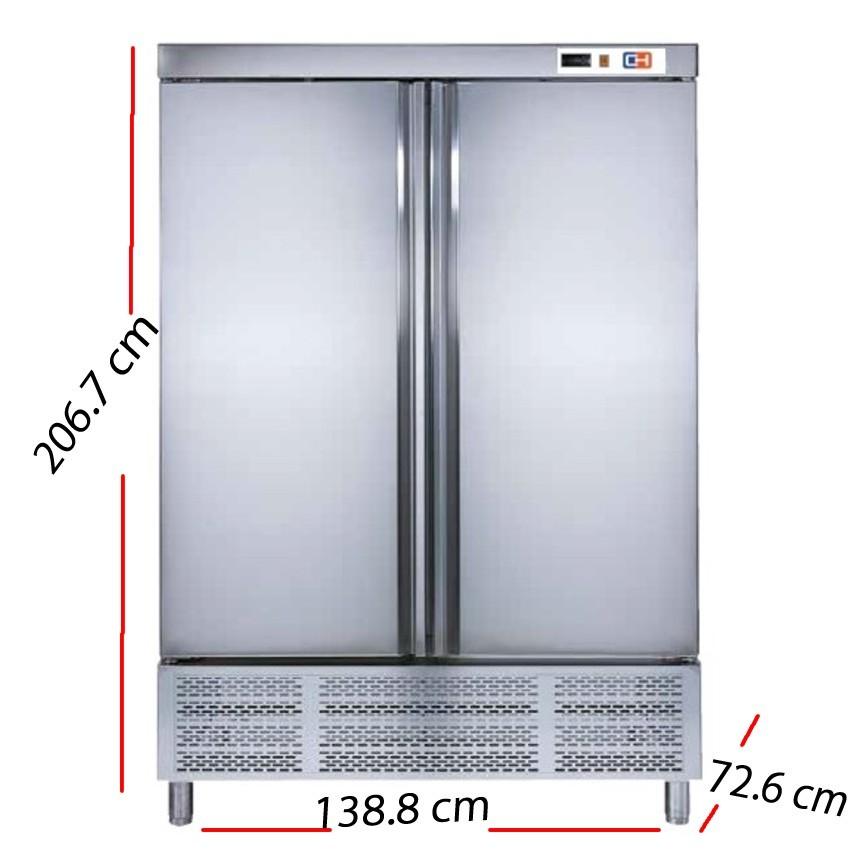 Armario frío 1 puerta Inox 468 W- ARCH-601