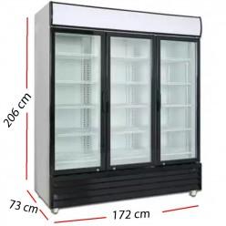 Cámara de frío 4 puertas Inox 675 W- ARCH-1204