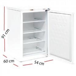 Nevera con frío 1 puerta Inox 468 W- ARCH-601