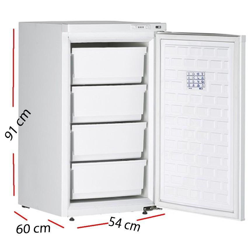 Congelador pequeño 1 puerta 84 L. 80 W -CN130