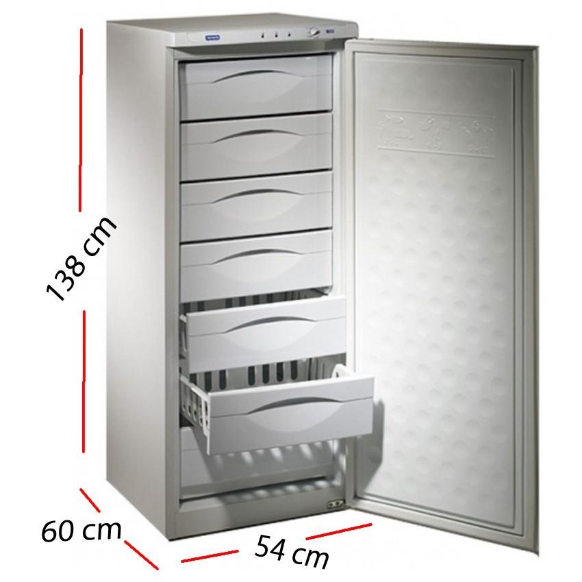 Congelador pequeño 4 Cajones 84 L. 80 W -CNG130