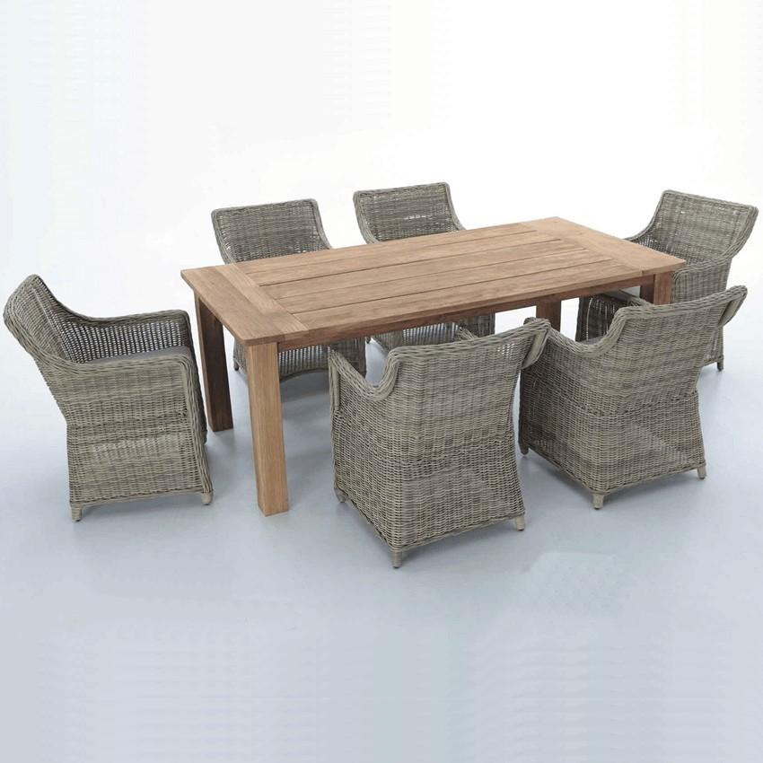 Mobiliario para jardines de hostelería set Mondariz