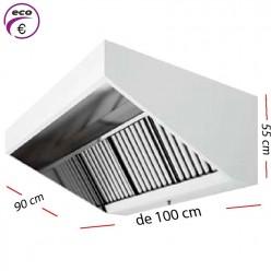 Campana industrial ECO de 100 x 80 cm y 70 cm de alto