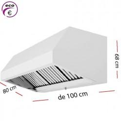 Campana industrial ECO de 80 cm y 70 cm de alto