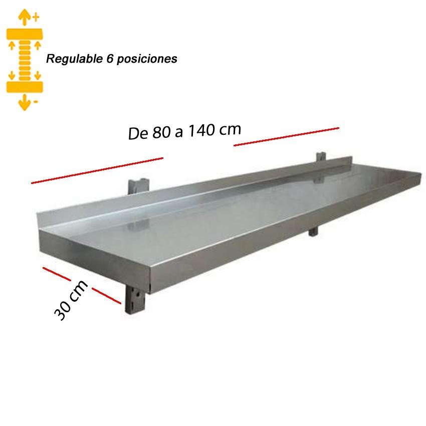 Estantería Pared Regulable desde 80 x 30 cm. 47-DR308