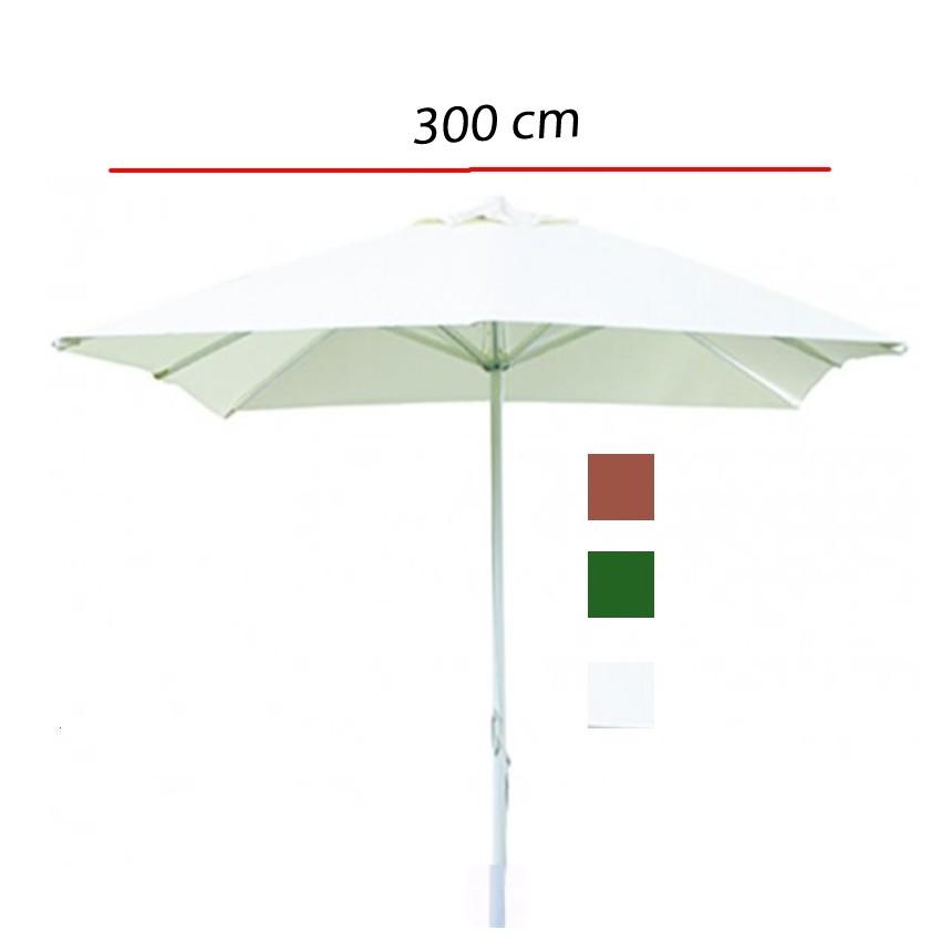 Parasol lateral Poliester y mastil aluminio -350 cm LA2