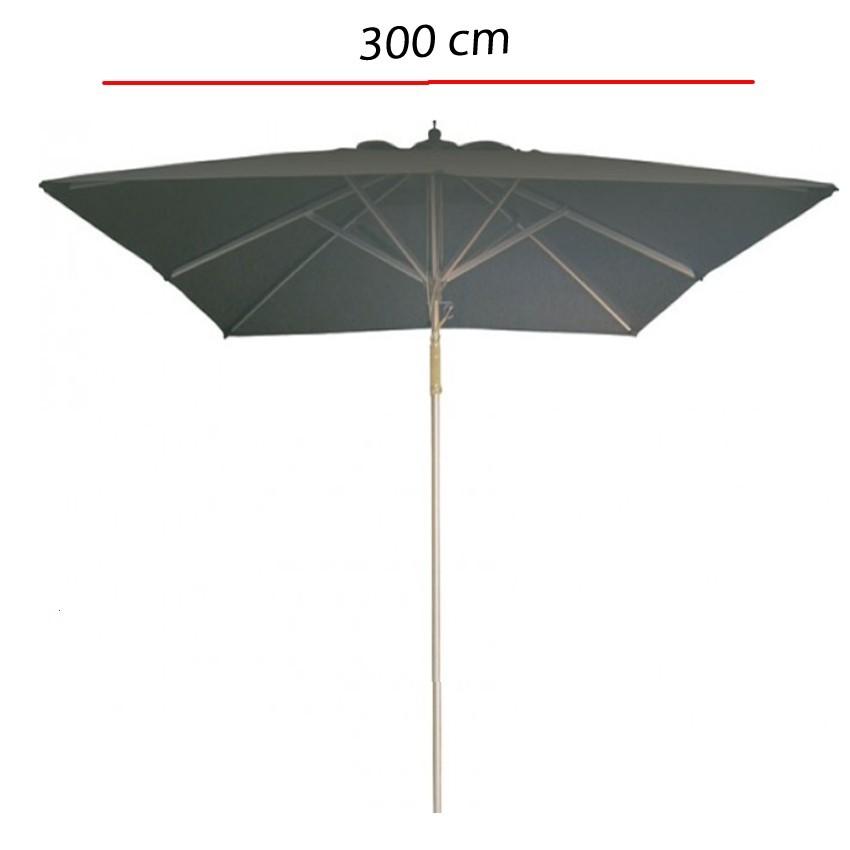Parasol de terraza Poliester y mastil aluminio -300 cm A1
