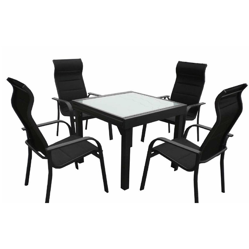Conjunto para jardines Albelda con sillón ergonómico
