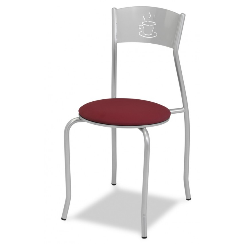 Silla de bar MR133 asiento TAPIZADO