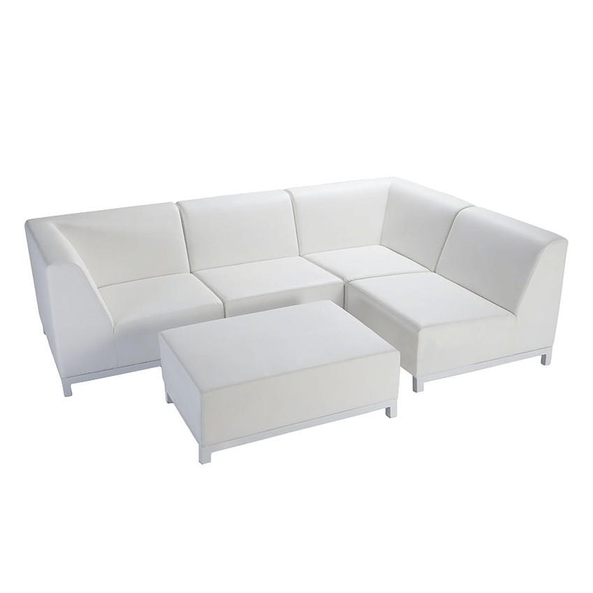 Conjunto de sofás modulares Cambil para terrazas