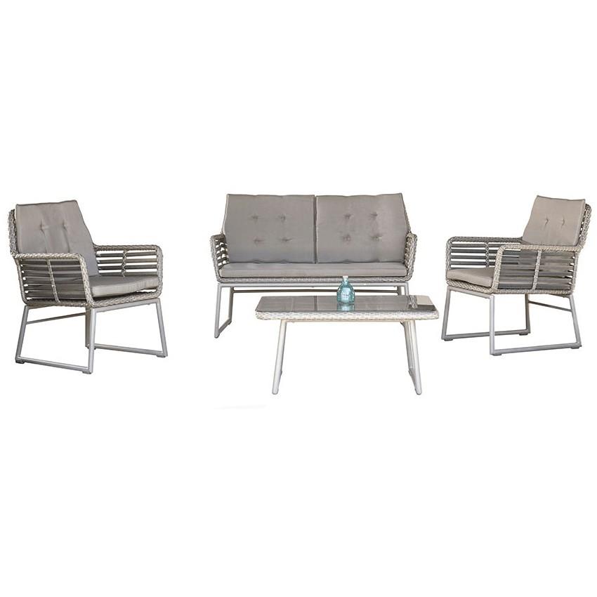 Conjunto de mobiliario Oria para terrazas