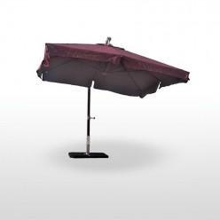 Parasol Padrenda con mástil de madera