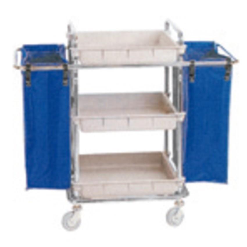 Carro transporte de ropa alto - 54x68cm. PACK-7