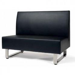 Sofá tapizado Vellon 2 plazas - 120 x 68 cm.