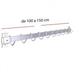 Barra para colgar 100 x 15 cm 02-F0210001