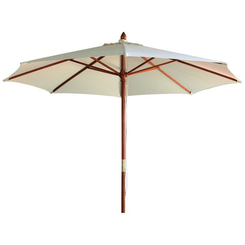 Parasol de terraza Maguilla en madera