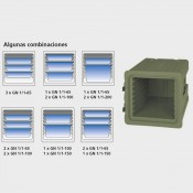 Contenedor isotérmico para carga frontal