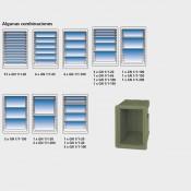 Contenedor isotérmico para 12 pares de guías GN 1/1