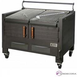 Barbacoas de carbón 100 comensales- Acanalada