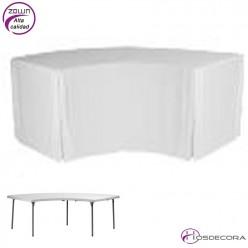 Mantel para mesa 21-XLmoon Lisa - plain