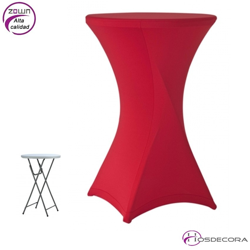 Mantel para mesa Cocktail80 Ajustable- Strech